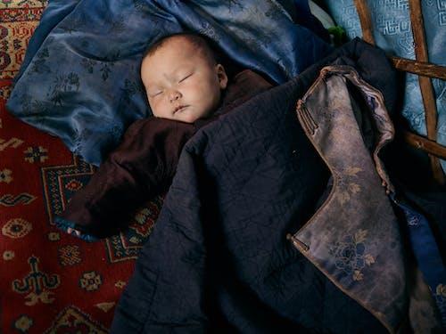 Gratis lagerfoto af afslapning, asiatisk, baby