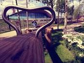person, relaxation, garden