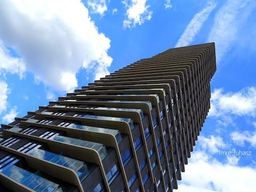 低角度拍攝, 塔, 天空, 建築設計 的 免费素材照片