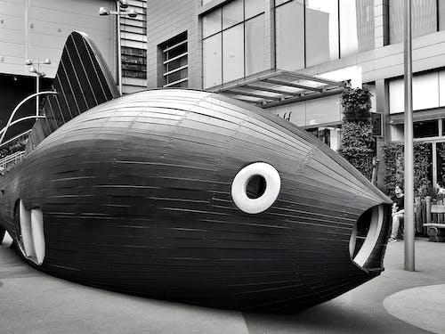 Základová fotografie zdarma na téma architektura, budovy, černobílá, denní světlo