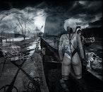 black and white, apocalypse