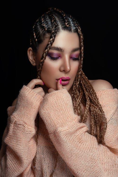 Ingyenes stockfotó afro-amerikai lány, ajkak, álló kép témában