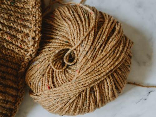 Brown Yarn Roll