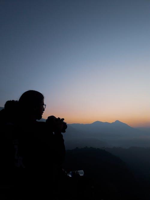 Free stock photo of mountain travel, sunrise, trekking
