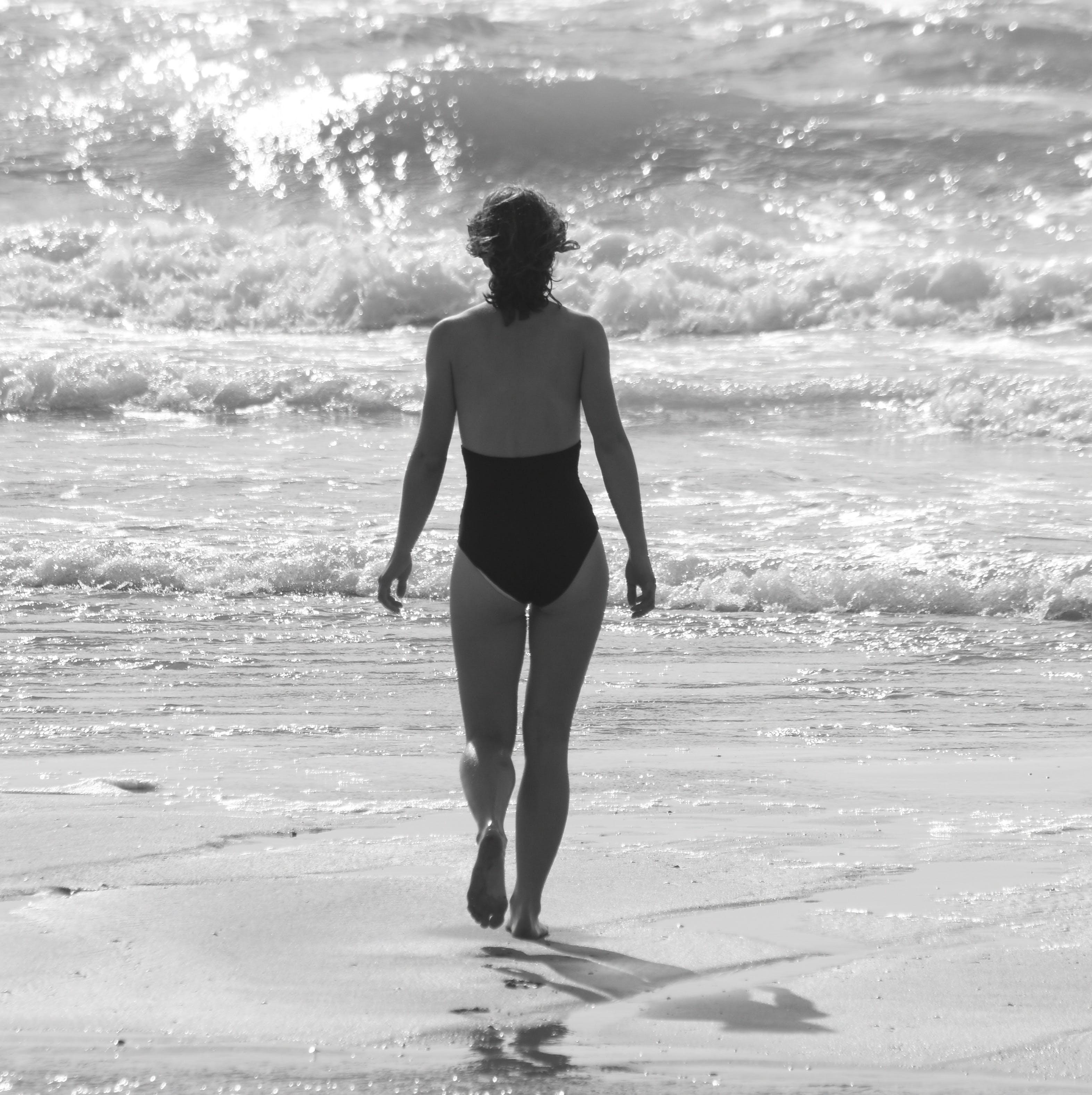 Free stock photo of sea, nature, beach, people
