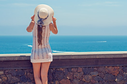 Free stock photo of sea, beach, holiday, woman