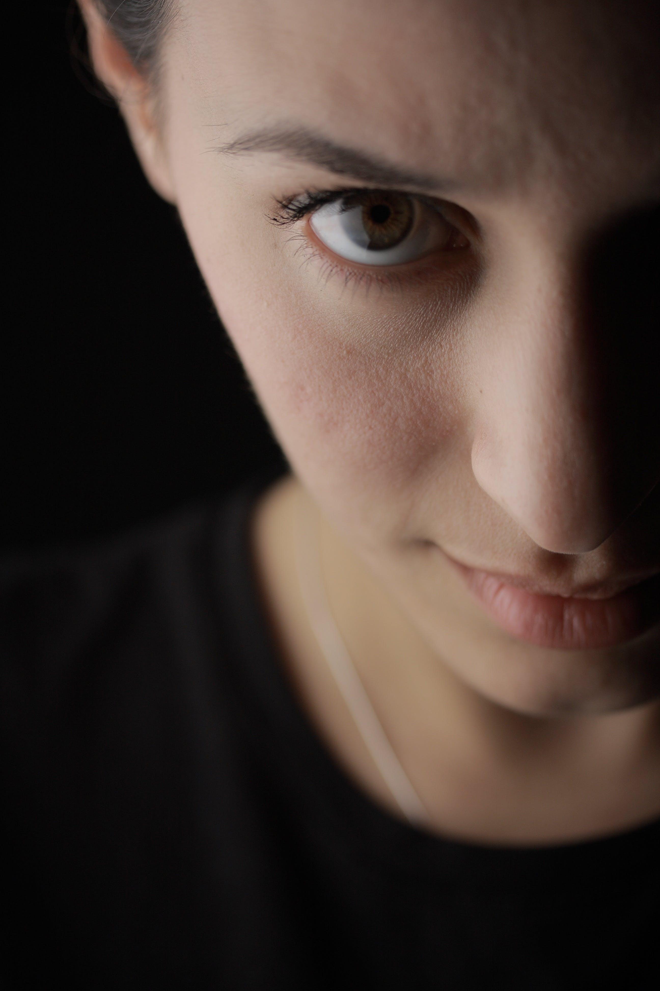 Foto d'estoc gratuïta de dama, dona, expressió facial, femella