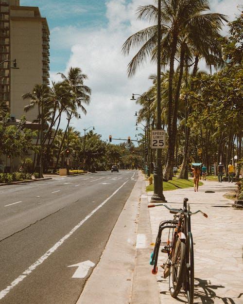 シティ, パーキング, バイクの無料の写真素材