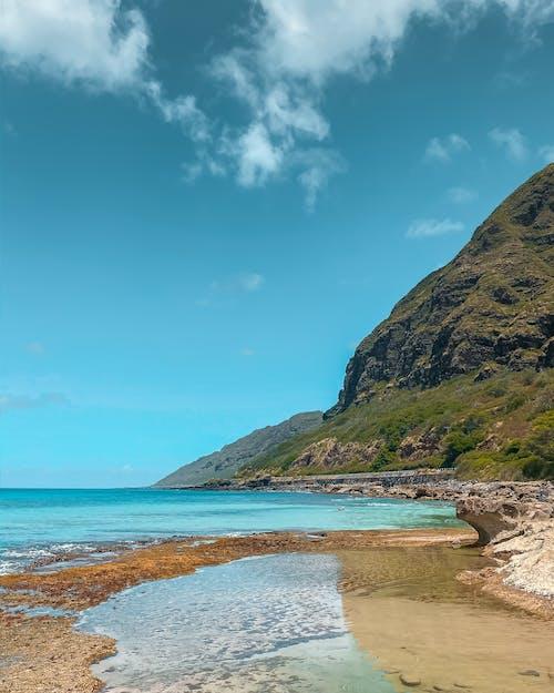 The Coastal Mountain in Oahu Hawaii