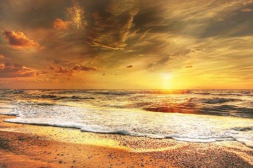 Безкоштовне стокове фото на тему «HDR, берег, берег моря, вечір»