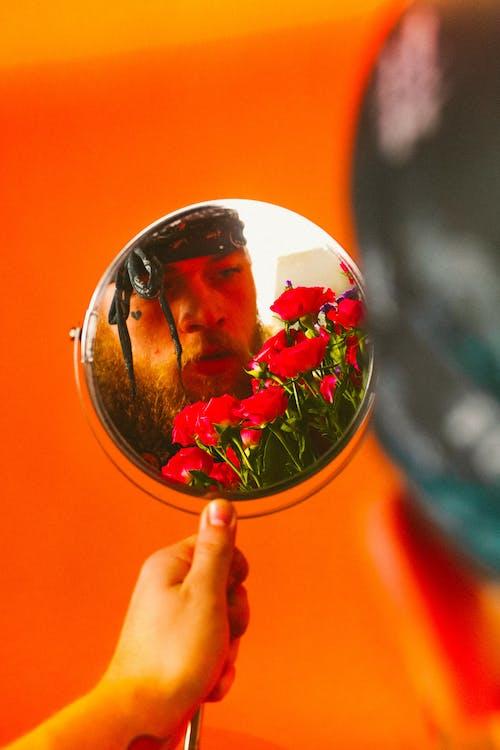Foto profissional grátis de flores, moda, moda editorial