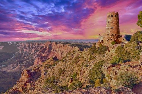 Gratis lagerfoto af arizona, geologi, himmel, kløft