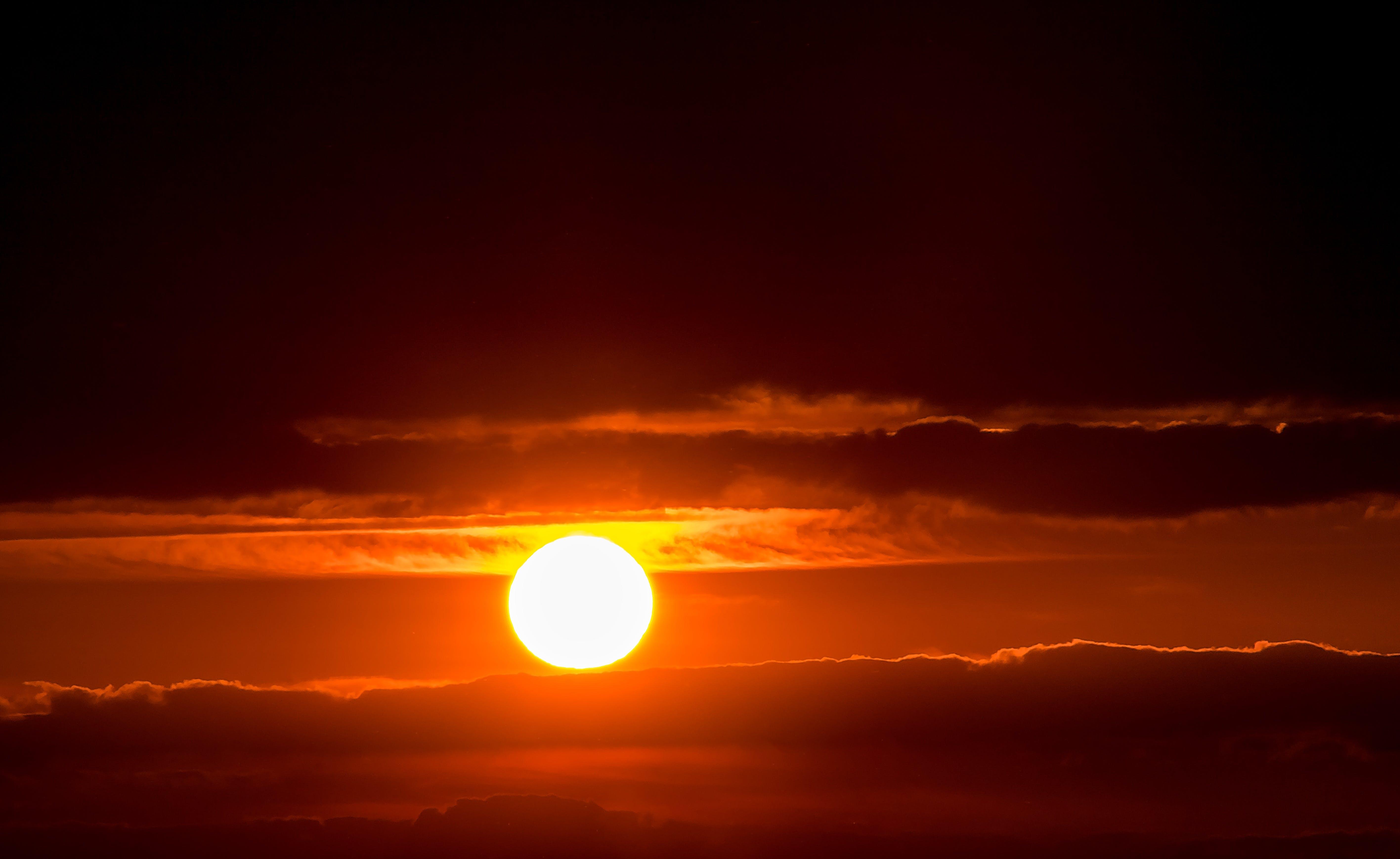abendstimmung, afterglow, bright