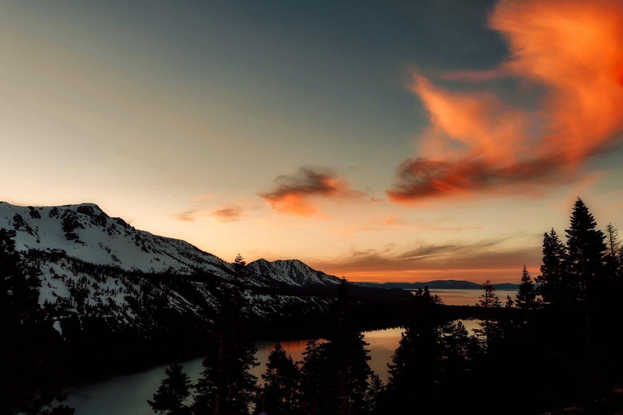 Gratis stockfoto met berg, bergen, bomen, Bos