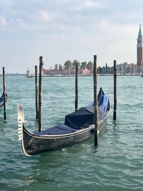 Free stock photo of boat, canoe, europe, grand canal