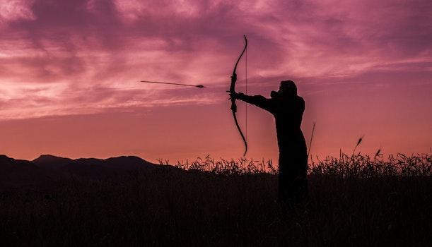 Free stock photo of dawn, landscape, sunset, man