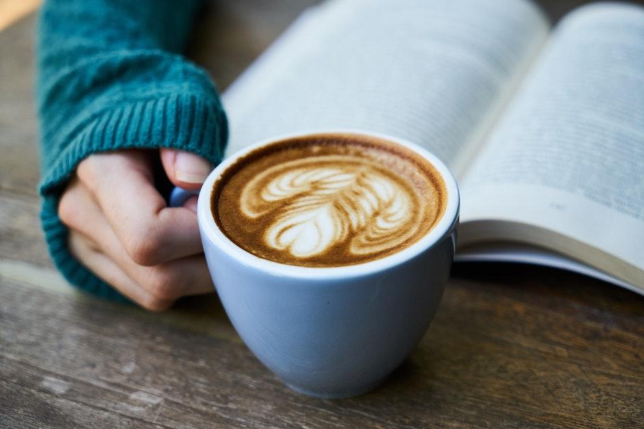 blur, book, breakfast