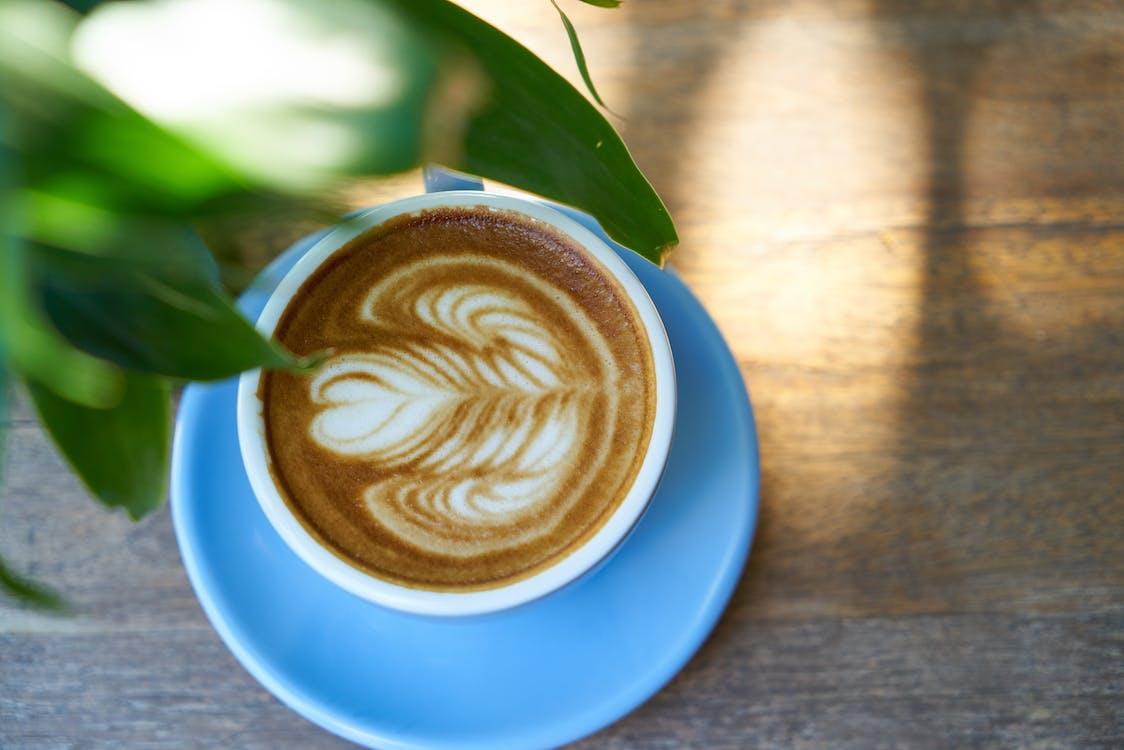 art latte, atractiu, beguda