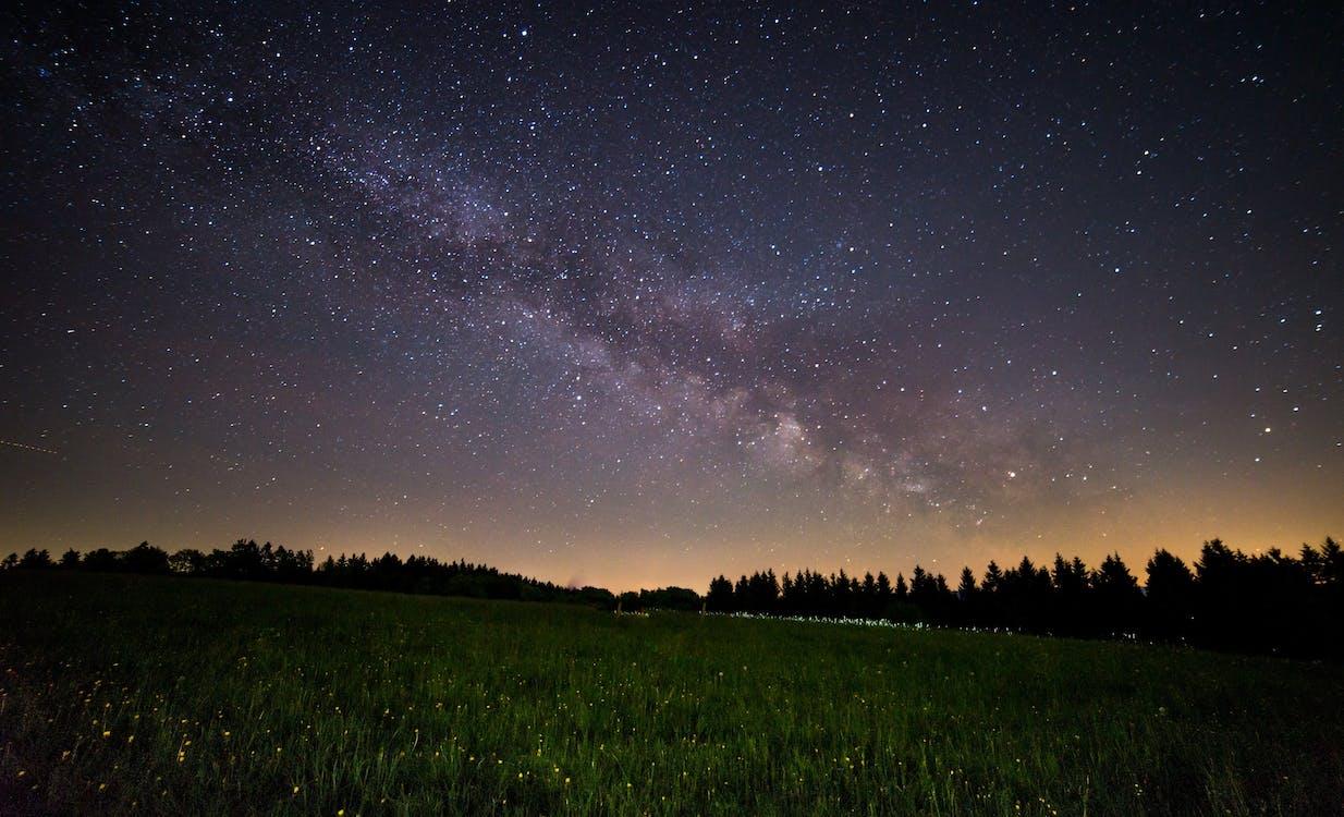 astronomi, fält, himmel