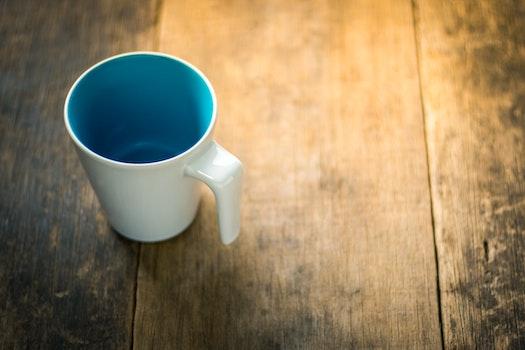 Kostenloses Stock Foto zu holz, kaffee, tasse, becher