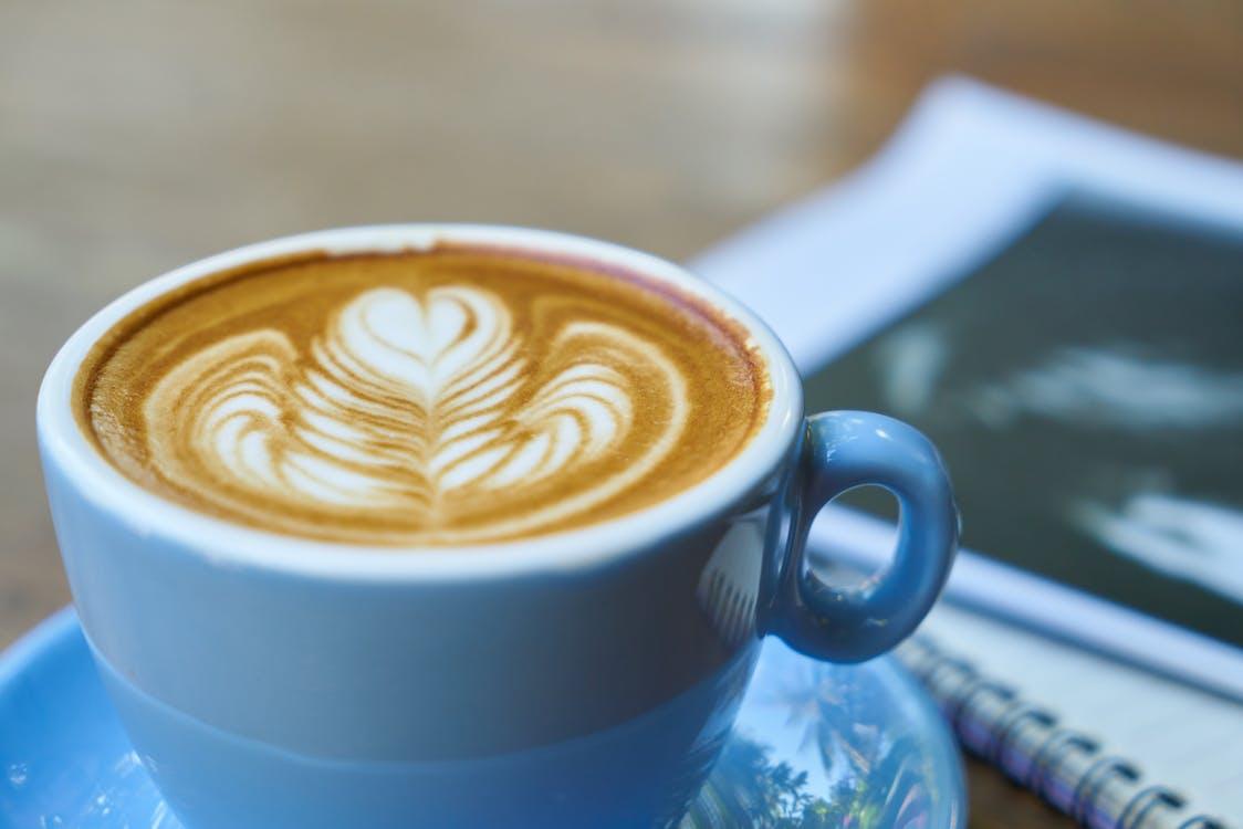aroma, art latte, atractiu