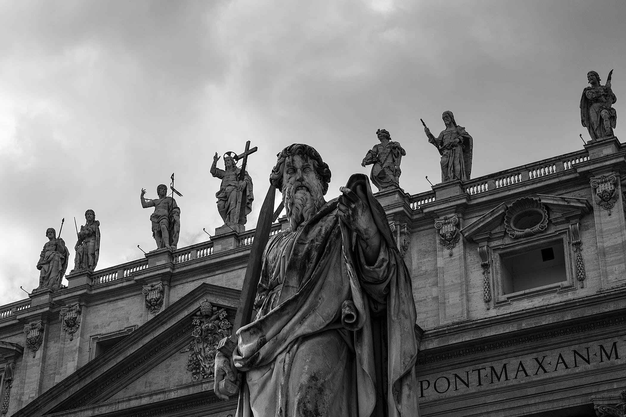Free stock photo of monument, sky, statues, vatican