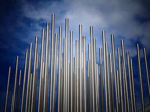 Δωρεάν στοκ φωτογραφιών με ατσάλι, δομή, μεταλλικός, ουρανός
