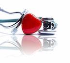 love, heart, reflection