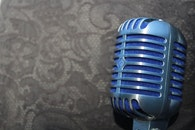 retro, audio, microphone