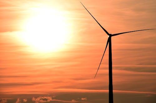 Δωρεάν στοκ φωτογραφιών με αιολική ενέργεια, ανανεώσιμες πηγές ενέργειας, ανεμογεννήτρια, ανεμόμυλος