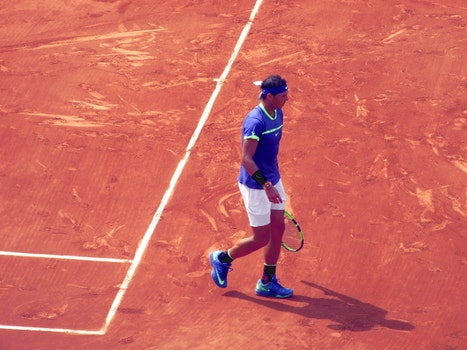 Free stock photo of tennis, Roland Garros, clay, tennis racket