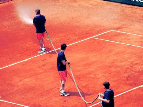 Free stock photo of Roland Garros, clay, tennis court
