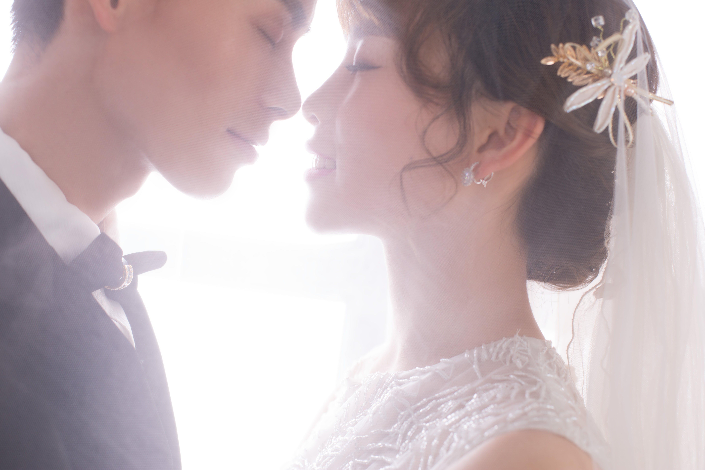 Free stock photo of love, romantic, bride, the groom