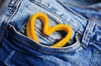 heart, jeans, pants