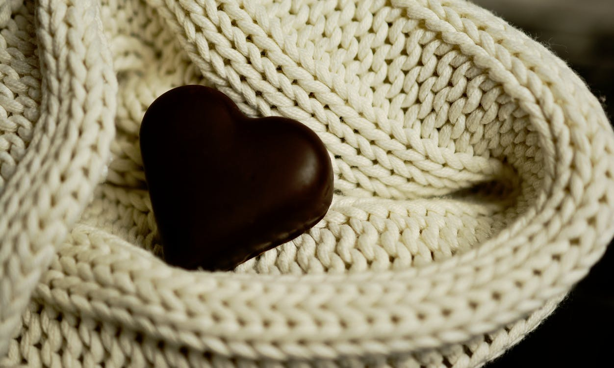 Aşk, çikolata, Gıda