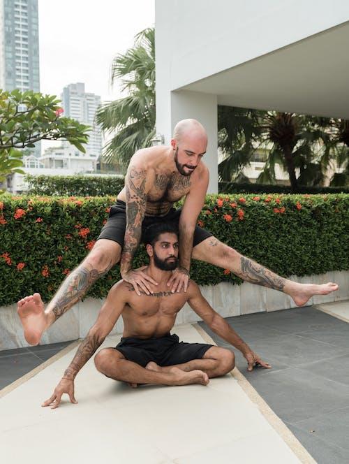 Immagine gratuita di acrobata, acrobatico, adatto