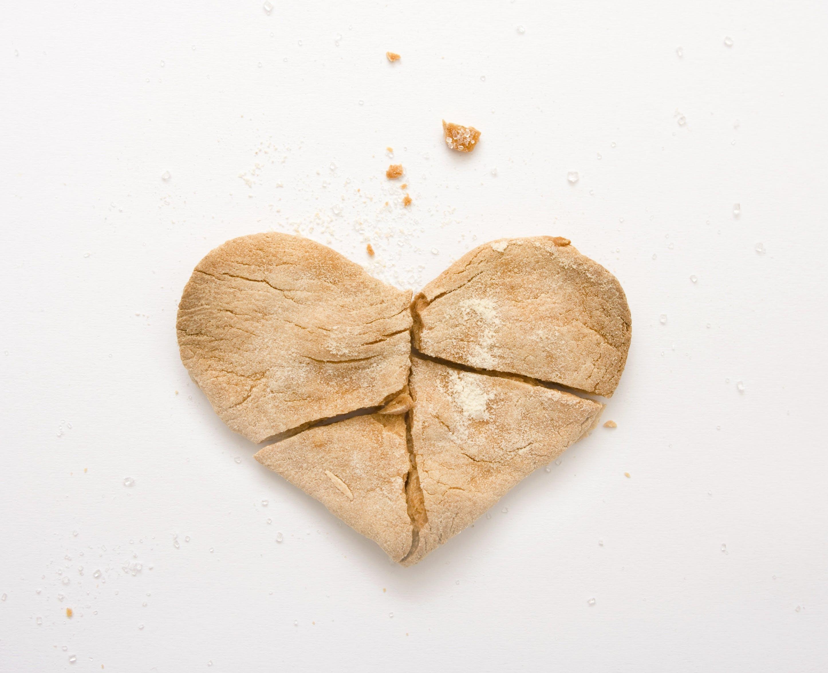 Free stock photo of heart, romantic, broken, emotion