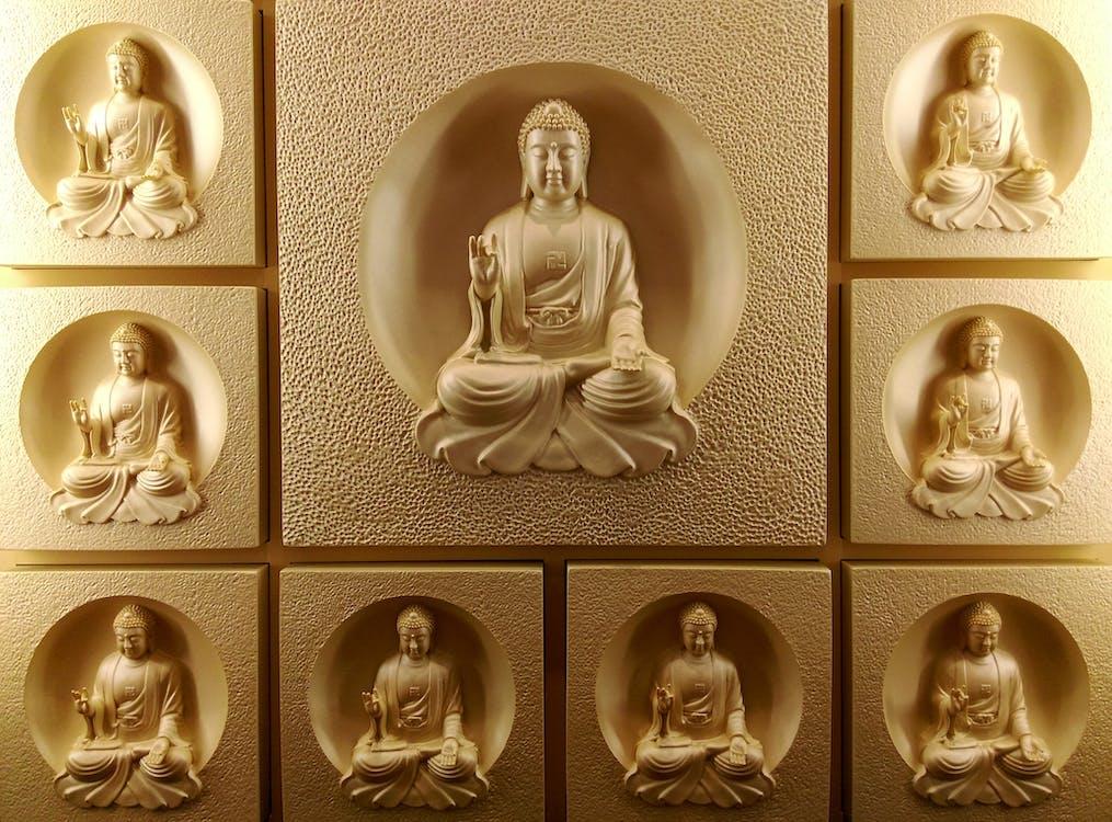 Buda, cara, circular