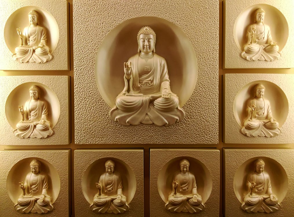Boh, Buddha, kruhový