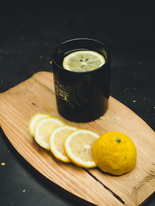 Gratis stockfoto met ceramig mok, citroen, citron, citrus