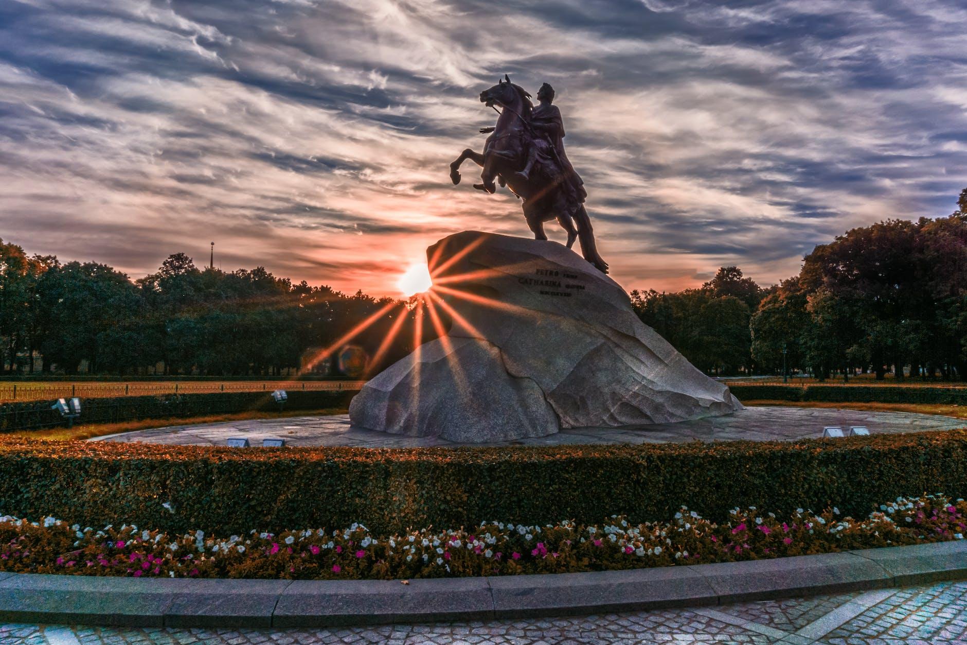 Bronze Horseman, Russia