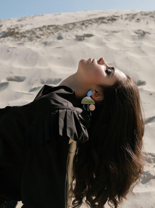 Δωρεάν στοκ φωτογραφιών με vogue, αίγλη, αισθησιακός, άμμος