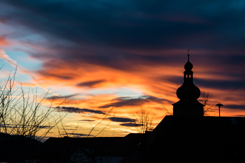 Foto stok gratis Arsitektur, awan, backlit, dramatis