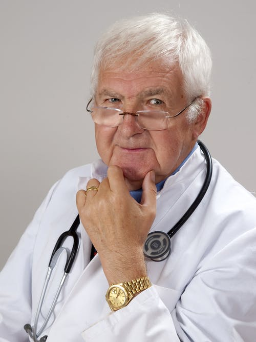 Doctor Carrying Stethoscope