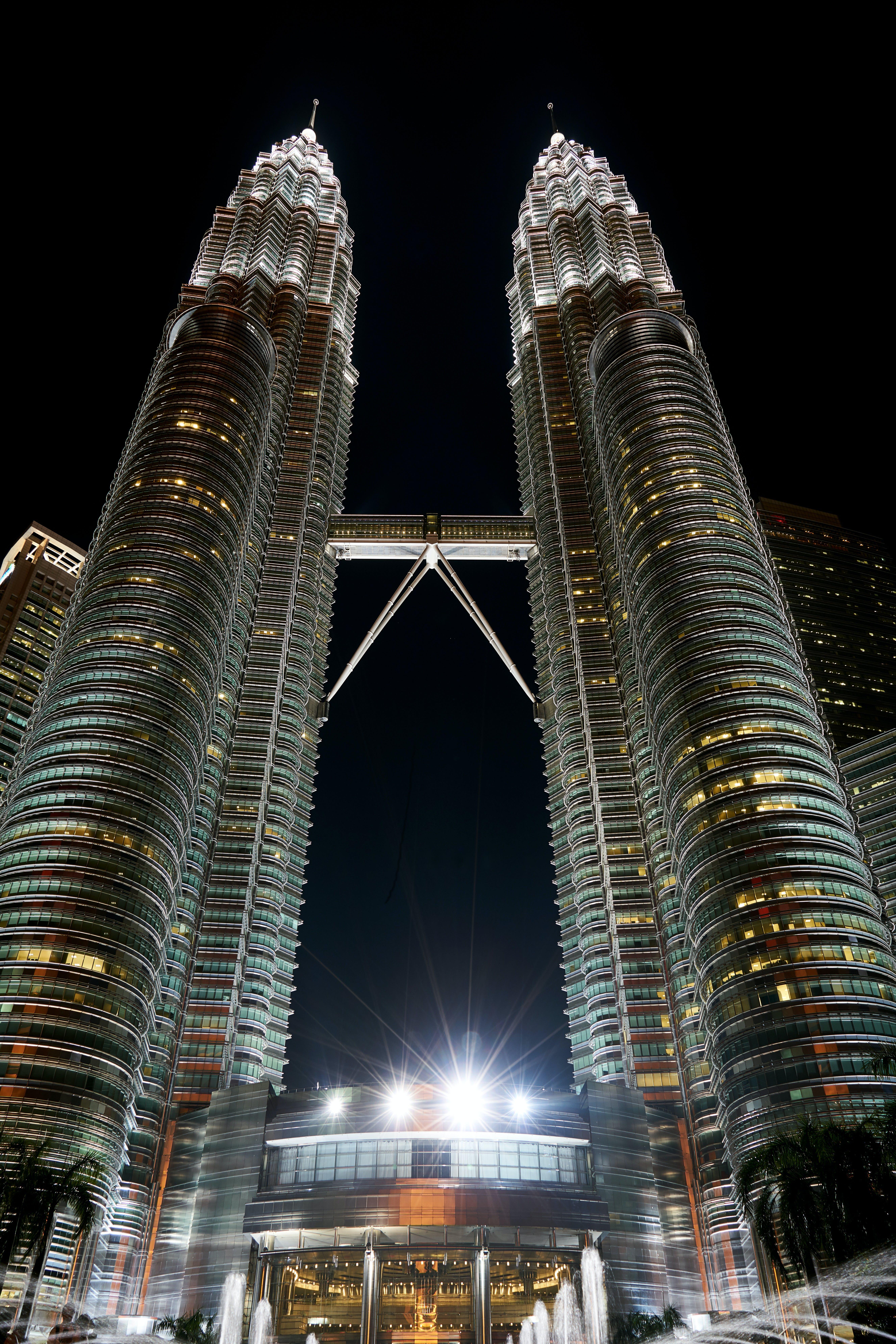 Petronas Towers, Malaysia at Night