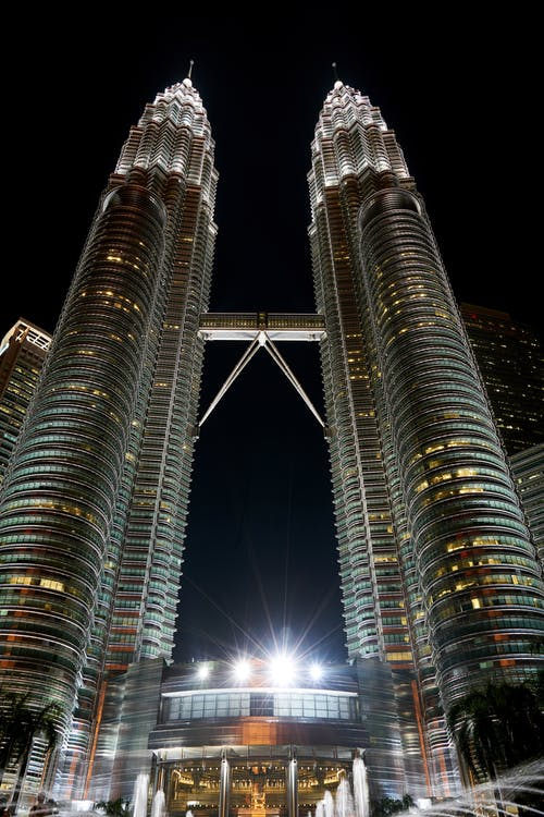 Petronas Towers, Malaysia at Night