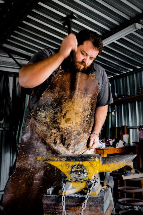 Free stock photo of blacksmith