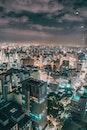 city, dawn, landscape