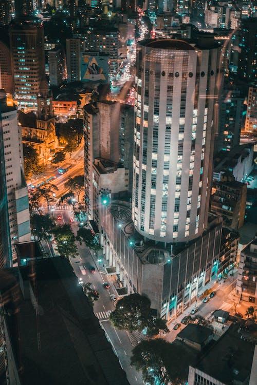Základová fotografie zdarma na téma architektura, auta, budovy, město