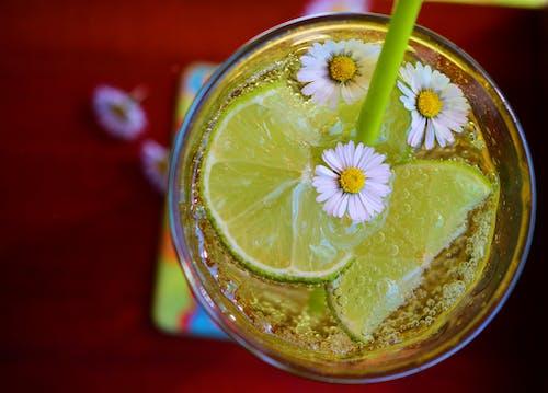 Foto profissional grátis de bebida, cítrico, com frio, copo